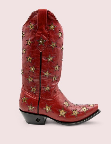 Red Cowboy Boots by Blackstar