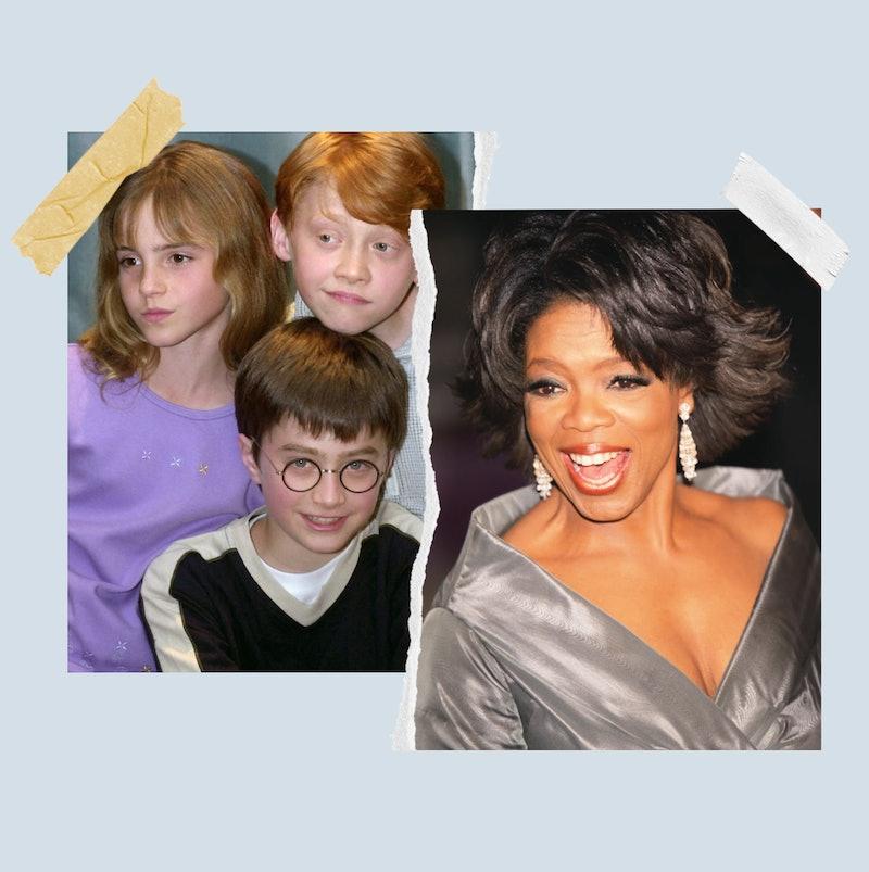 Daniel Radcliffe and Oprah