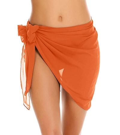 Ekouaer Sarong Wrap Bikini Cover Up