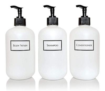 Artanis Home Bottle Pump Shower Set (3-Piece Set)