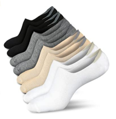 wernies No Show Socks (4-Pack)