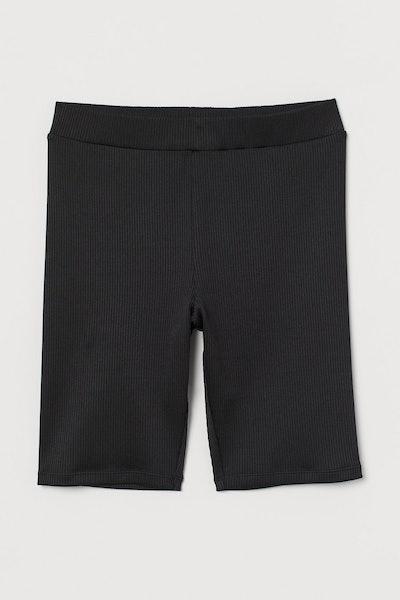 Ribbed Cycling Shorts