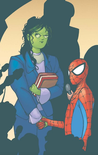 The 'She-Hulk' Disney Plus series could connect to the upcoming 'Spider-Man' film in an interesting ...
