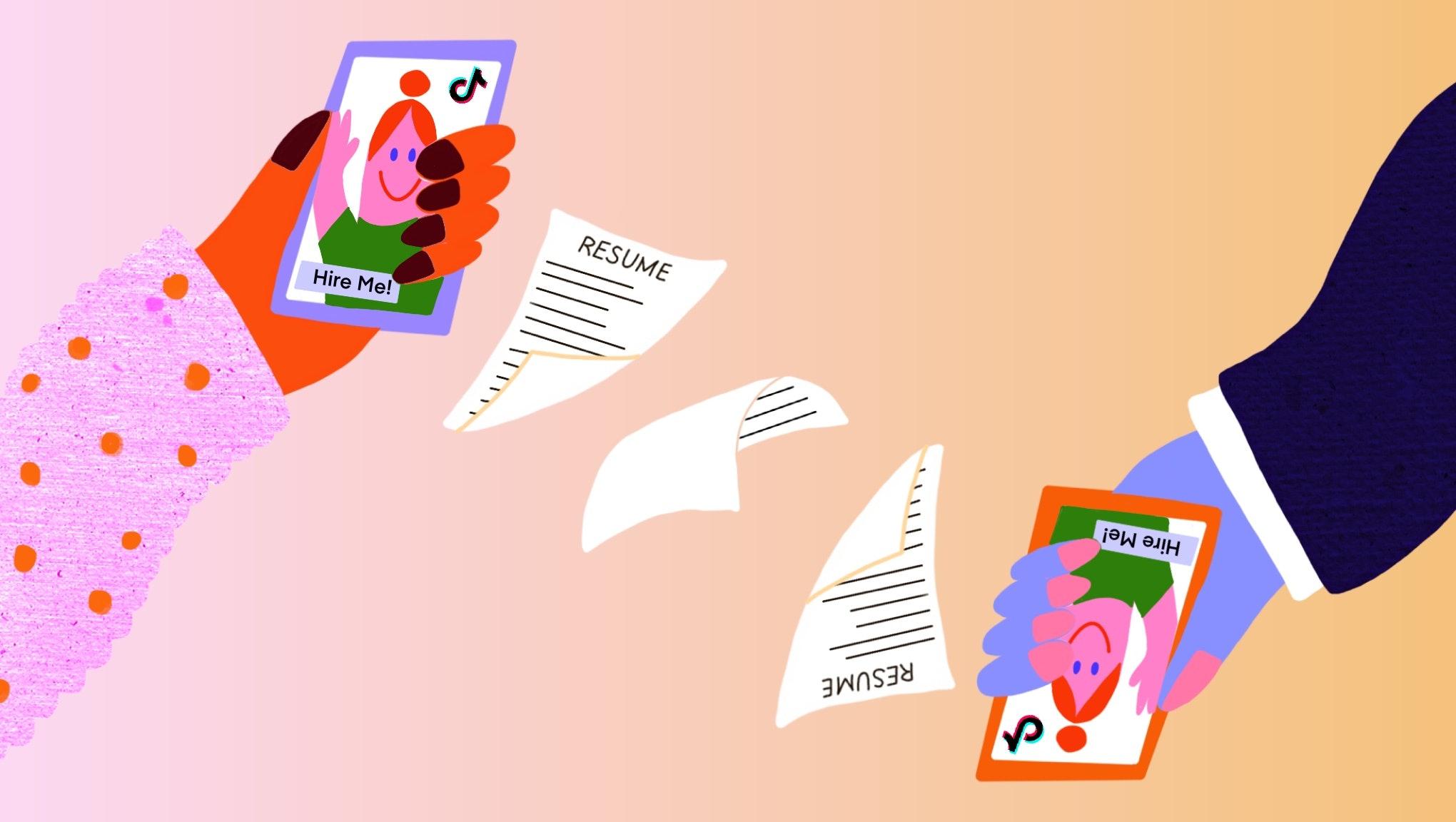 Can TikTok's new résumé feature really help you find a job?
