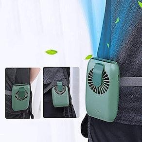 OATSBASF Mini Waist Clip on Fan