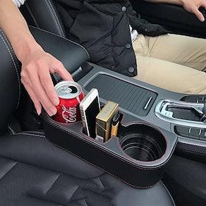 Iokone Car Console Storage Side Pocket