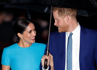 Meghan, Duchess of Sussex and Prince Harry, Duke of Sussex attend The Endeavour Fund Awards at Mansion House on March 5, 2020 in London.