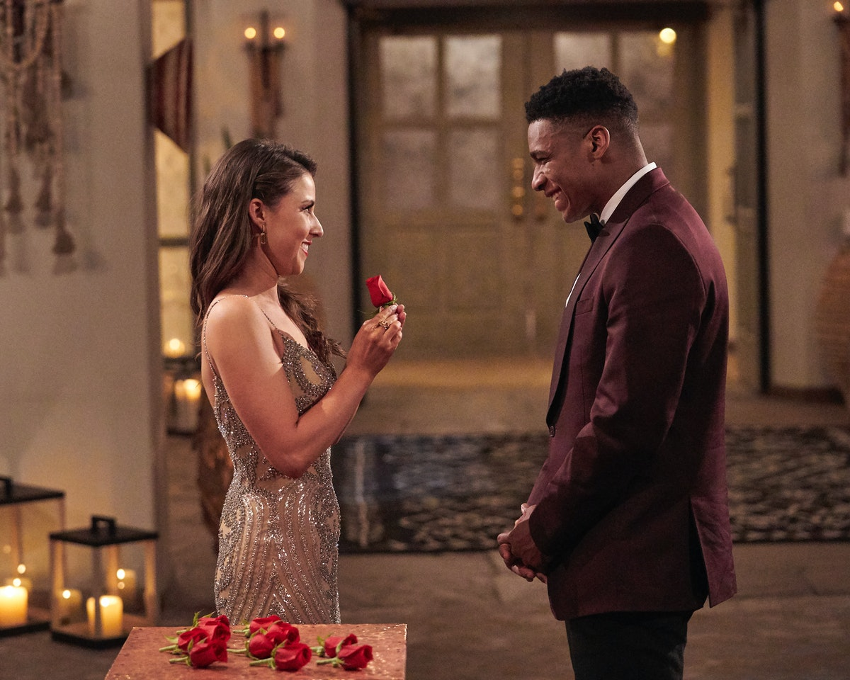Andrew Spencer and Katie Thurston in 'The Bachelorette.'