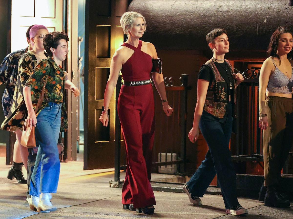 سینتیا نیکسون در مجموعه فیلم And Just Like That ...