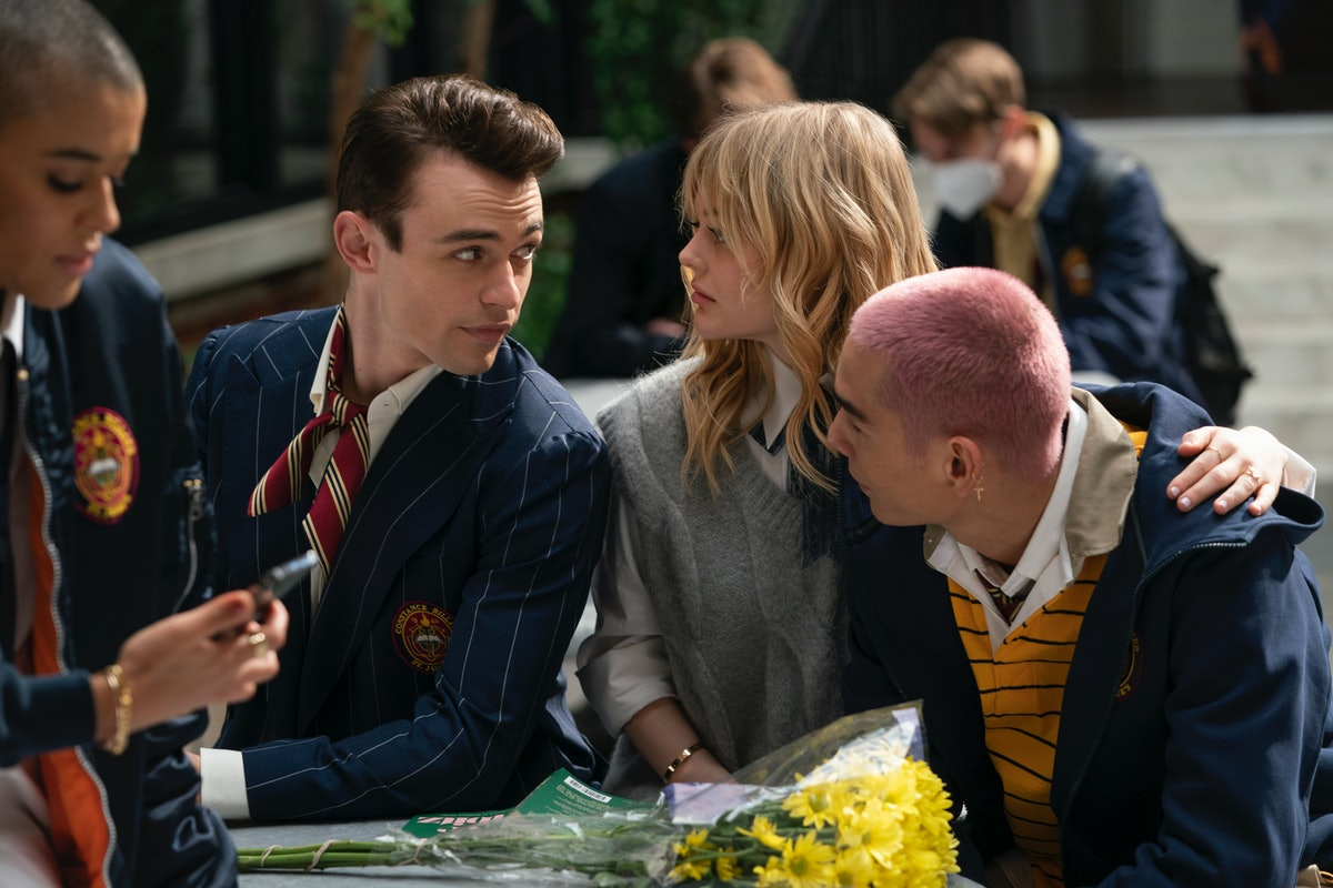 Some serious 'Gossip Girl' drama is going down between Audrey, Max, and Aki.