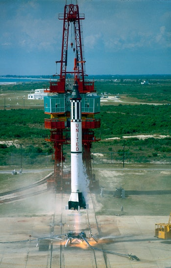 mercury redstone 3 launch vehicle alan shepard
