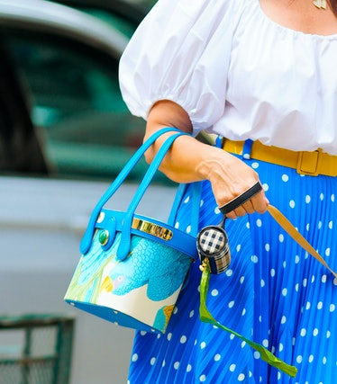 A bag worn by Kristin Davis