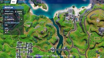 fortnite record location 5 map