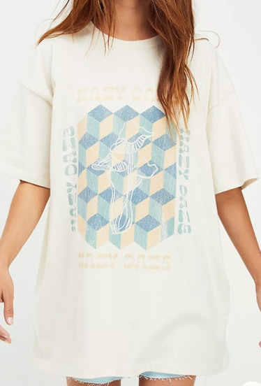 Free People's Hazy Daze T-shirt dress.