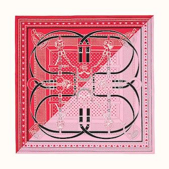 Grand Manege Bandana Love scarf 70