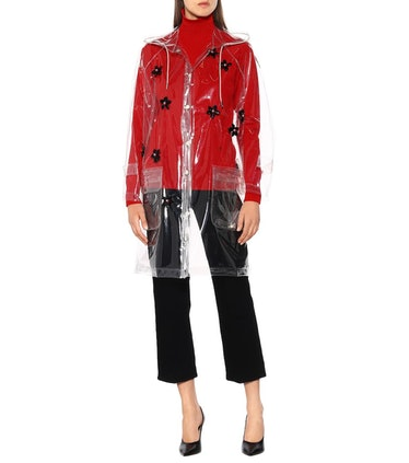 Simone Rocha Embellished Raincoat