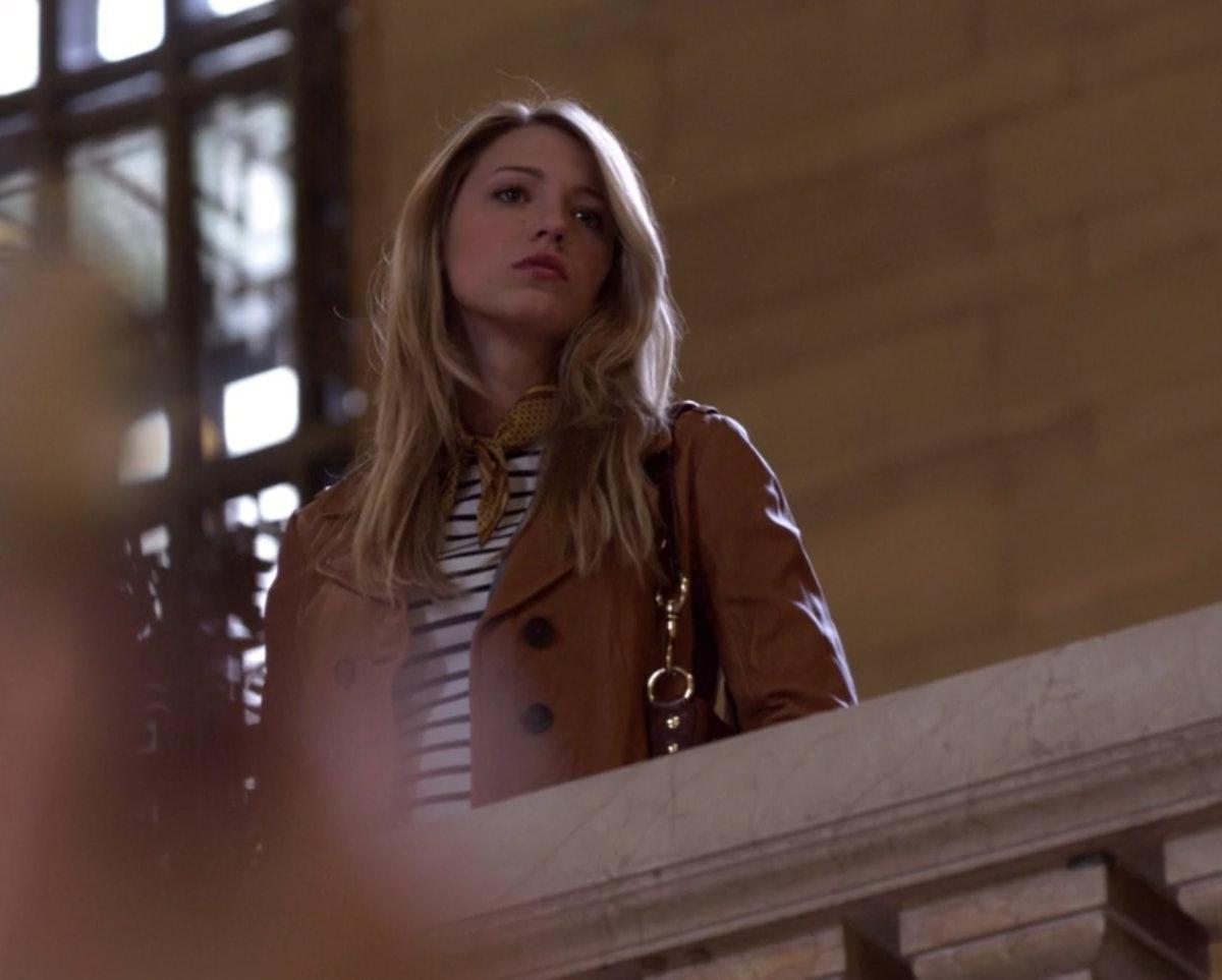 Serena in the pilot episode of 'Gossip Girl.'