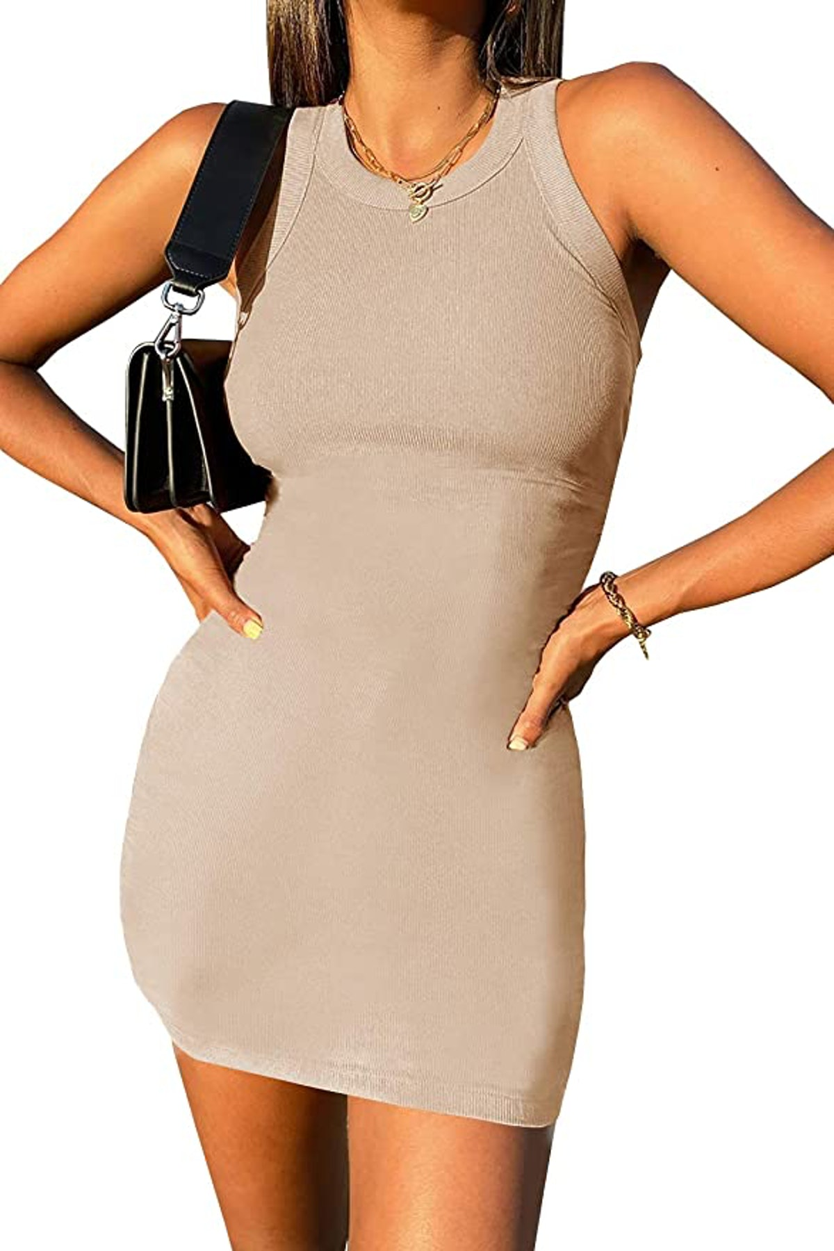 Umeko Sleeveless Mini Dress