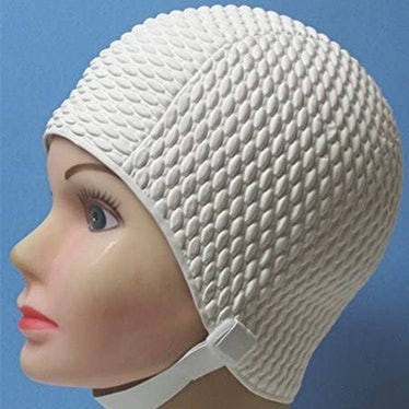 Aquapro Vintage Swim Cap With Strap