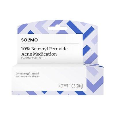 Solimo 10% Benzoyl Peroxide Acne Medication