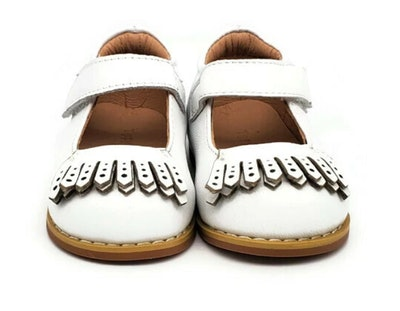 toddler white leather mary jane shoes