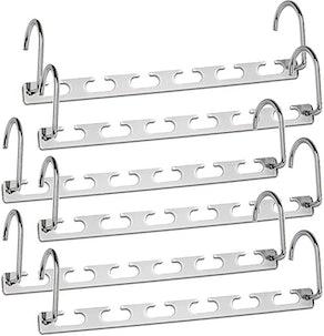 CBTONE Closet Space Saving Hangers (6-Pack)