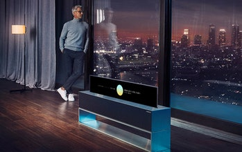 LG's rollable TV will go up for pre-order in August for $100,000.