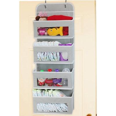Simple Houseware Over-Door Pocket Organizer
