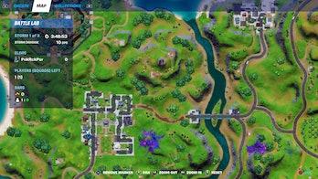fortnite record location 1 map