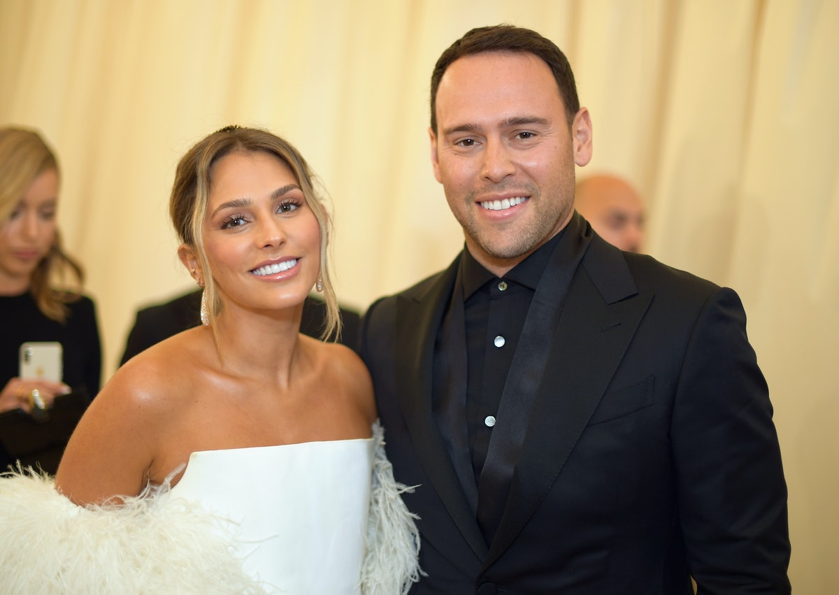 Scooter Braun and ex-wife.