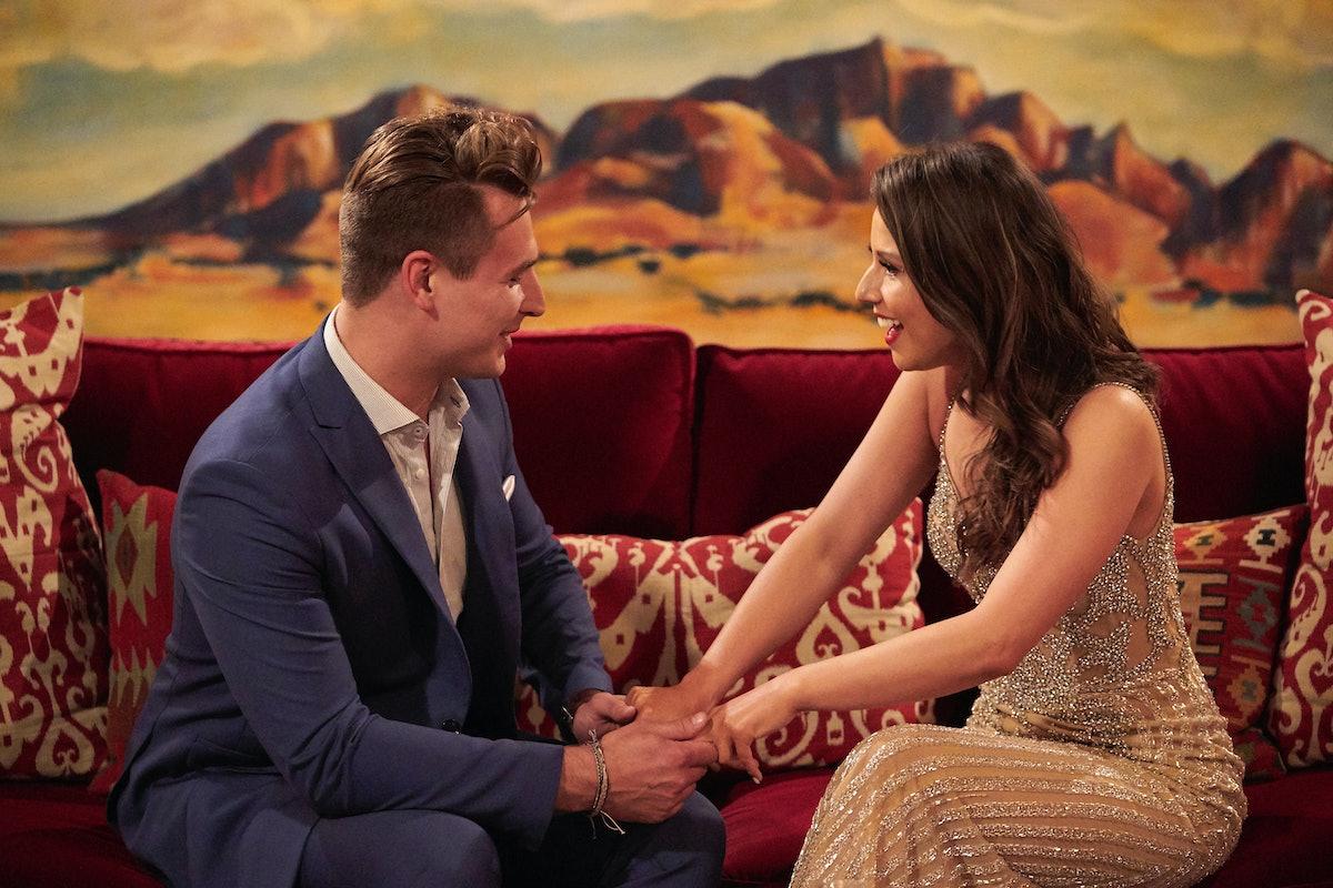 Katie Thurston and Brendan on Season 17 of 'The Bachelorette'