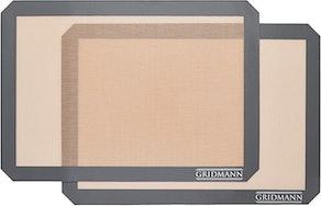 GRIDMANN Pro Silicone Baking Mat (2-Piece)