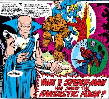 Uatu the Watcher What If...? Multiverse
