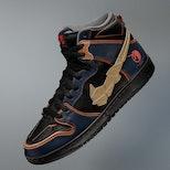 Nike SB Dunk Gundam Bandai sneakers shoes Tokyo Olympics