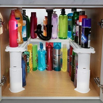 Spicy Shelf Expandable Under-Sink Organizer