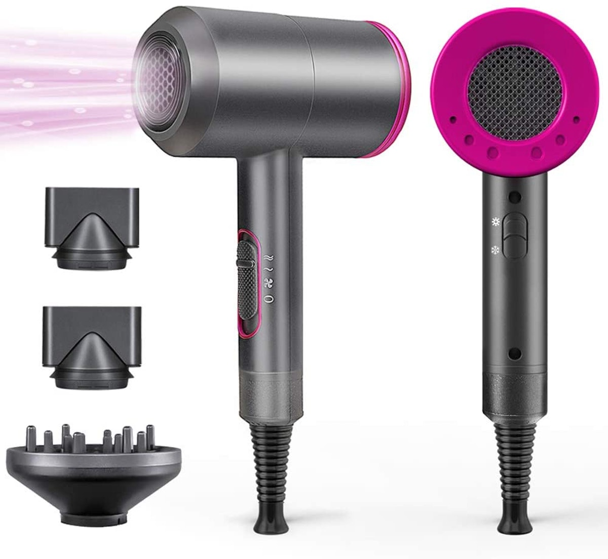 LPINYE Professional Hair Dryer With Diffuser