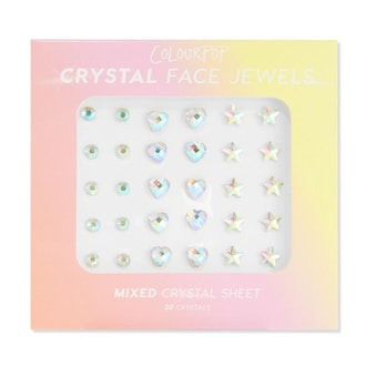 Mixed Crystal Face Jewels