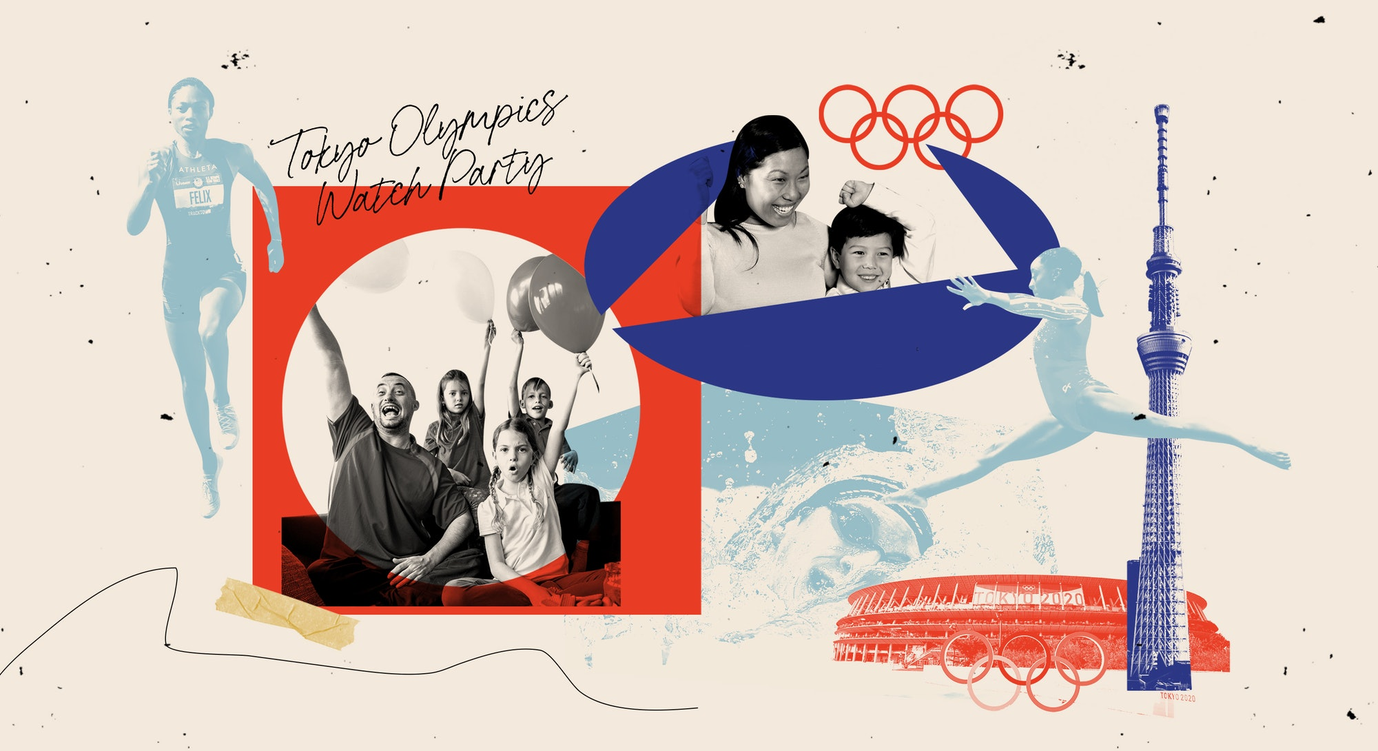 Throw an Olympics party with these ideas.