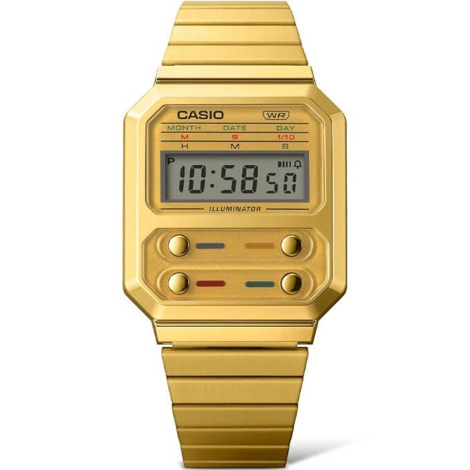 Casio A100 digital retro vintage Pac-Man watch. Video games. Games. Gaming. Style. Accessories.