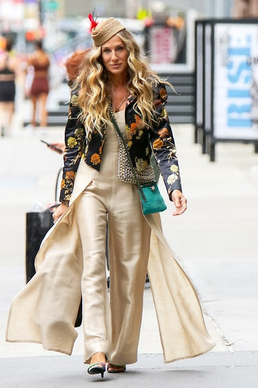 Sarah Jessica Parker on the set of 'And Just Like That...'