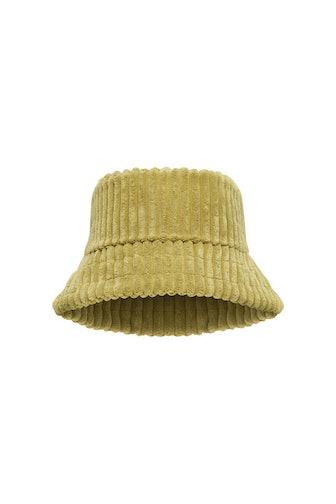 Terry cloth bucket hat