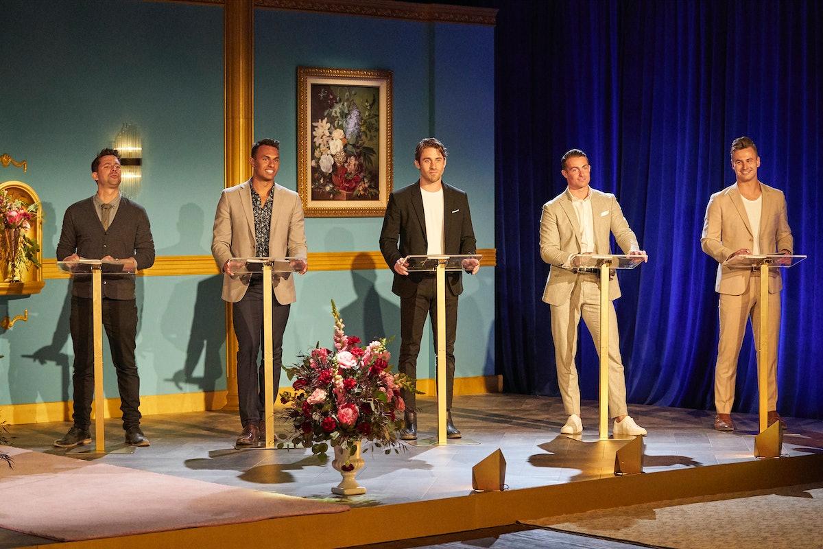 The guys on Katie Thurston's 'Bachelorette' season.