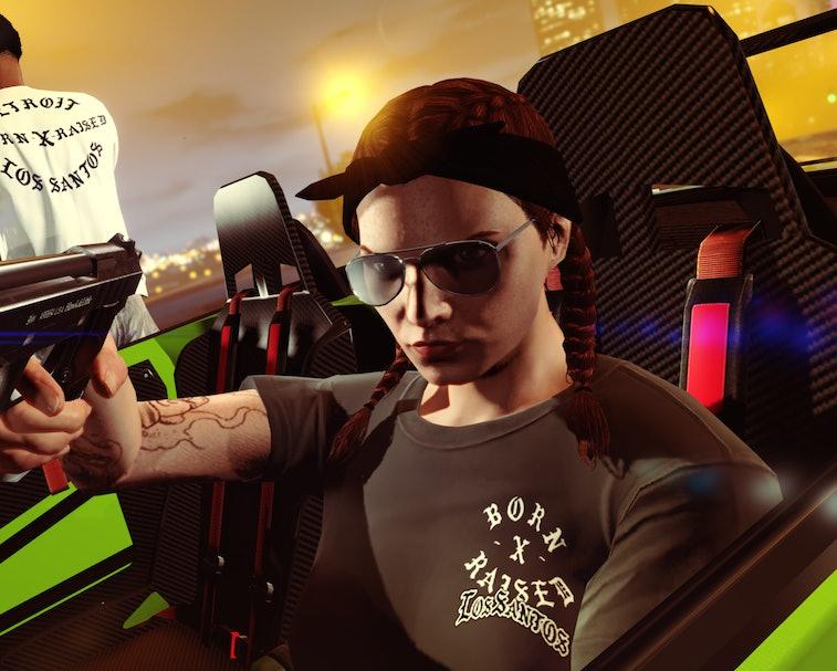 Born x Raised GTA V