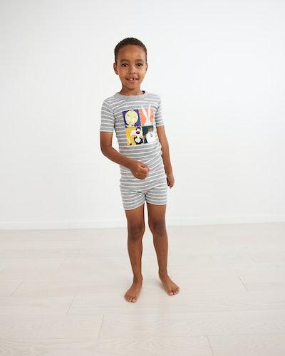 Looney Tunes™ Short John Pajamas In Organic Cotton