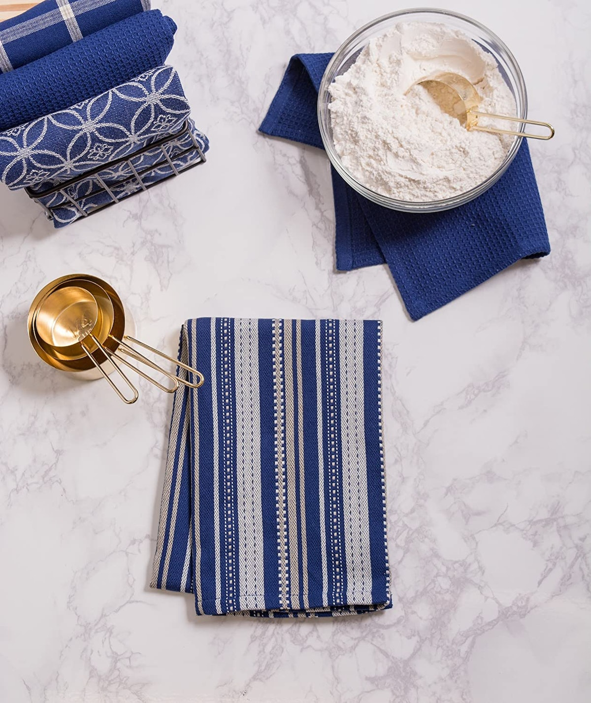 DII Oversized Cotton Dish Towels (Set of 5)