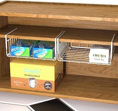 Simple Houseware Under-Shelf Baskets (2-Pack)