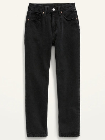 high waisted black jeans for kids, from Old Navy