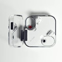 Nothing Ear (1) transparent wireless earbuds charging case. Designed by Teenage Engineering. Battery...
