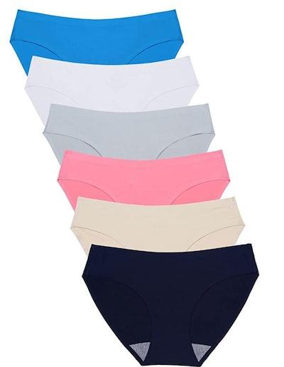 Wealurre Seamless Underwear (6-Pack)