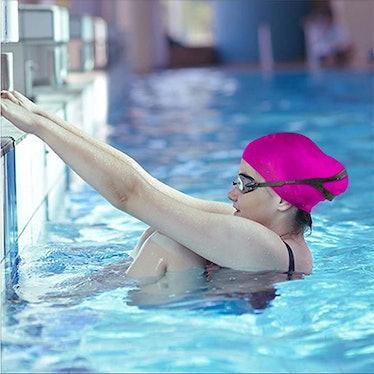 Dsane 3D Silicone Swim Cap